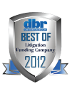 2012 Best Litigation Funding Company