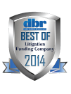 2014 Best Litigation Funding Company
