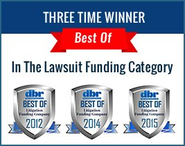DBR Recognizes Injury Funds Now as a Top Lawsuit Funding Company for a Third Time